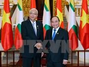缅甸总统吴廷觉:缅方鼓励越南企业赴缅投资