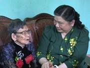 越南国会副主席丛氏放走访清化省和义安省
