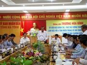 张和平同中部四省领导就有关海洋环境事故的赔偿工作举行工作座谈会