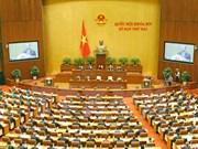 越南全国选民对国会讨论的问题给予大力关注