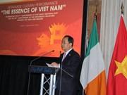 爱尔兰希望拓展与越南的经济及教育合作