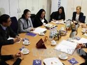 越南祖国阵线中央委员会同全德社会平等联合会加强合作