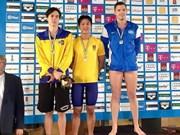 匈牙利游泳锦标赛:越南运动员黄贵福夺得两枚奖牌