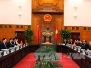 越南政府总理阮春福会见中国全国人大常委会委员长张德江