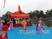 2016越南芒街—中国东兴北仑界河青年对歌联欢在北仑河源头举行