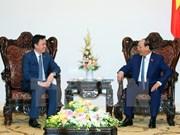 越南政府总理阮春福会见柬埔寨新任驻越南大使