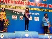 第40届东南亚射击锦标赛:广宁省年轻射手夺6枚奖牌