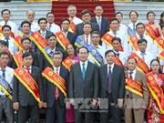 陈大光主席:农业和农村工业化和现代化是越南首要任务之一