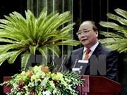阮春福总理会见先进越侨知识分子