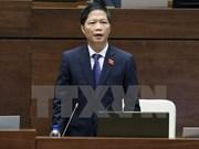 越南第十四届国会第二次会议:工商部长陈俊英就国会代表提出的若干热点问题予以解答