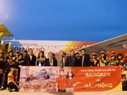 越捷航空公司开通海防市——曼谷直达航线