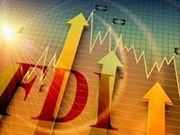 2016年前10月河内市吸引FDI项目445个