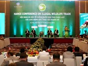 第三次打击野生动植物非法交易国际会议在河内举行