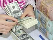 越盾兑美元中心汇率较前一日上涨8越盾