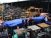 今年前10月越南从中韩两国的商品进口额达逾660亿美元