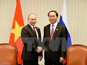 陈大光主席与各国元首和领导人举行双边会晤