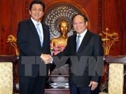 胡志明市与日本努力推动双方合作关系深入发展