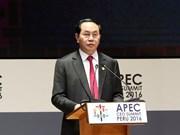 陈大光主席:越南承办APEC 2017充分体现国际社会对越南的高度信任