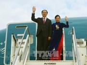 越南国家主席陈大光抵达罗马开始对意大利进行国事访问(组图)