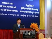 越南政府副总理兼外长范平明在柬埔寨的系列活动(组图)