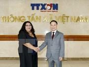 越通社与蒙古通讯社签署新合作协议
