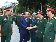 越南政府总理阮春福出席国防学院2017-2018学年开学典礼(组图)