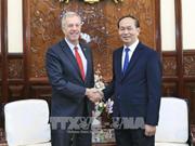 越南国家主席陈大光会见前来辞行拜会的美国驻越大使