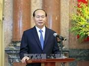 国家主席陈大光向5位外交人员授予大使衔(组图)