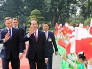 波兰共和国总统安杰伊·杜达开始对越南进行国事访问(组图)
