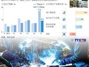图表新闻:2017年前11月越南工业生产指数增长 9.3%