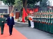国家主席陈大光出席越南人民军成立73周年纪念典礼(组图)