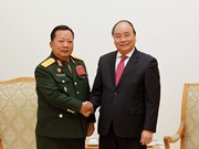 越南领导会见外国客人 (组图)