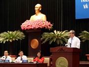 胡志明市举行2018年社会经济发展计划和财政预算执行工作部署会议(组图)