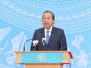 """越南政府副总理张和平启动""""2018年交通安全年""""活动(组图)"""
