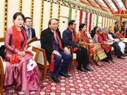 越南政府总理阮春福出席印度共和国日69周年纪念典礼(组图)