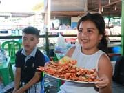 庆和省平巴岛以多人喜爱的海鲜美食——龙虾闻名遐迩(组图)