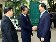 陈大光与中央司法改革指导委员会办公厅举行工作会谈(组图)