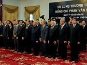 党和国家领导及国际友人吊唁越南前政府总理潘文凯(组图)