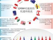 图表新闻:CPTPP对越南的机遇和挑战