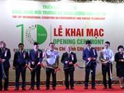 第十届越南环境技术和能源国际展览会开幕(组图)