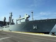 三艘印度海军舰艇访问越南岘港市