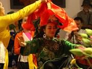 """弘扬越南文化精髓的""""跳神艺术""""图片展在河内举行(组图)"""