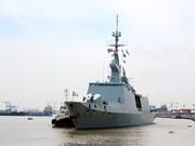法国海军军舰对胡志明市进行访问(组图)