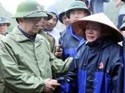 越南政府副总理郑廷勇赴莱州省视察指导灾后恢复重建工作(组图)
