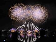 2018岘港国际烟花节总决赛:格外灿烂的夜空(组图)