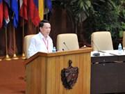 越通社社长阮德利在圣保罗论坛上发表重要讲话(组图)