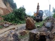 连日暴雨给越南西北地区多省造成严重损失(组图)