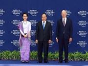 2018年世界经济论坛东盟峰会正式开幕(组图)