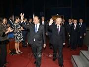 2018年世界经济论坛东盟峰会在河内开幕  越共中央总书记阮富仲出席(组图)