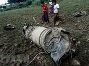 缅甸2架军用飞机坠毁 致3人死亡